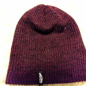 MAROON VANS OFF THE WALL BEANIE